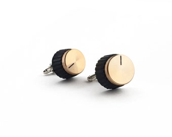 Marshall Amp Knob Cufflinks | Music Dials | Gifts for Guys | Alternative Wedding
