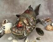 MUTANT FISH - hand sculpt...