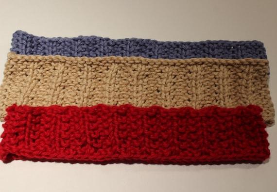 Knitting Patterns For Headbands Knit Headband Pattern