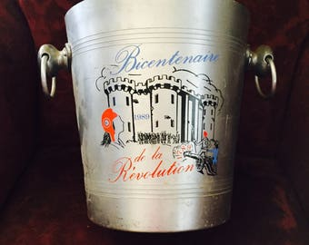 French Ice Bucket Vintage