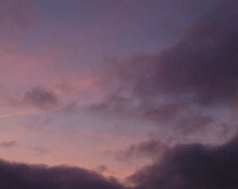 Pink Sky At Sunset