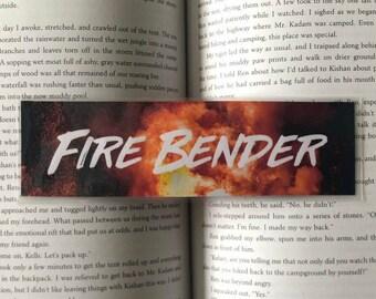 Fire Bender Bookmark (Avatar: The Last Airbender)