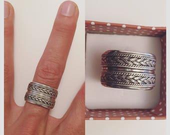 rotating Silver 925 ring