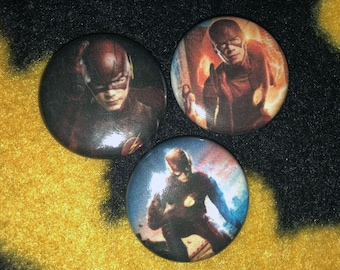 The Flash Pinback Buttons 1'