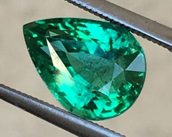 Natural Emerald 3.25ct GIA