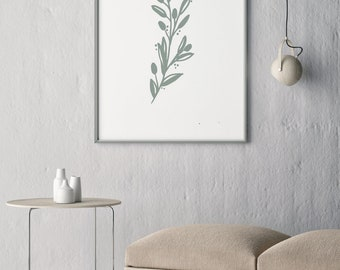 Collection 2- Olive Branch- Modern Art Print