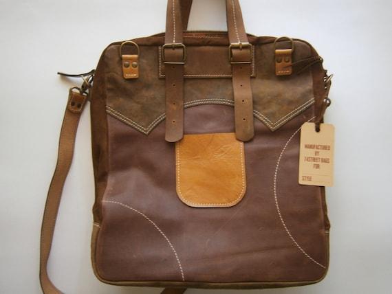 Leather Messenger Bag, Full Grain Leather Handmade Bag, Laptop bag, Leather Laptop Bag, unisex bag,