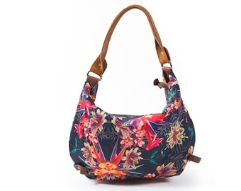 Silky cotton bags, leather bags, handmade bags