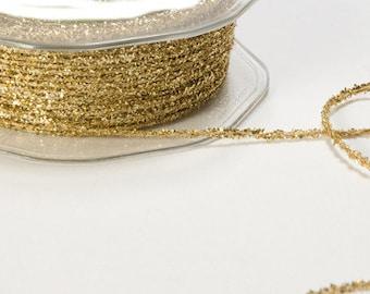 Gold Tinsel Twine