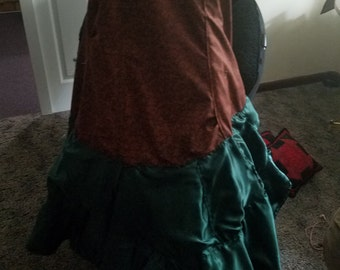 Handmade Steampunk Skirt