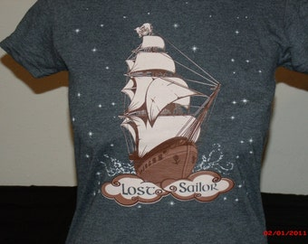 "Grateful Dead Shirt. ""Lost Sailor"" Women's T-shirt Grateful dead lot shirt."