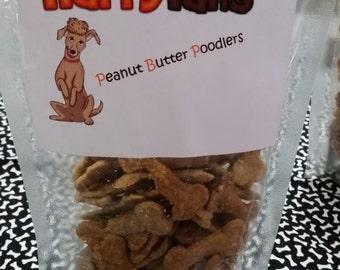Dog Treats: Peanut Butter Poodlers