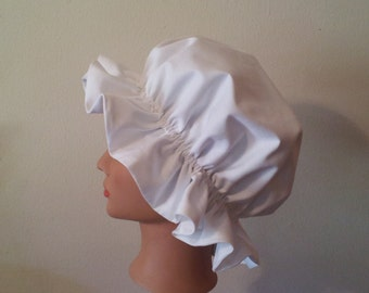 Colonial Mob Cap, Bonnet, Hat, Sleep Cap in Girls and Women's Sizes