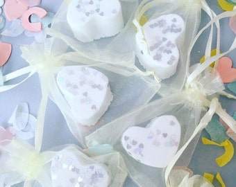 50 x Ivory Wedding Favours, Wedding Favors, Bath Bomb Favours, Bath Bomb Favors, Ladies Mini Bath Bombs, Party Bag Fillers, Table decoration
