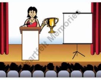 Award Winner Male or Female Personalized Cartoon