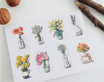 Handmade Greeting cards Crafted by Stephanie Heo. Blank card made by Toronto artist Canadian artist.