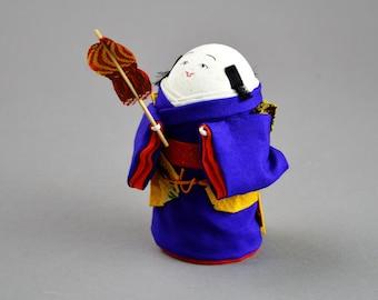 Taketa Tamago Ningyo Japanese Kimono Egg Shell Doll Takeda B2