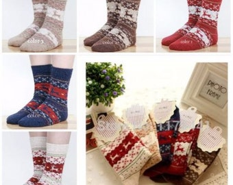 Thick warm winter women socks Animal style lady socks price for 1 pair