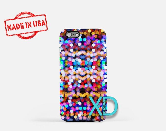 Bokeh Explosion iPhone Case, Bokeh iPhone Case, Bokeh iPhone 8 Case, iPhone 6s Case, iPhone 7 Case, Phone Case, iPhone X Case, SE Case