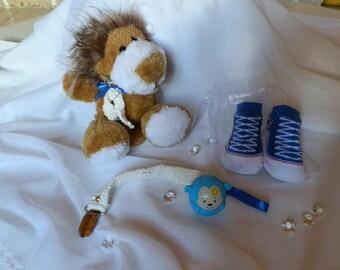 Baby Einstein lion and her accessories