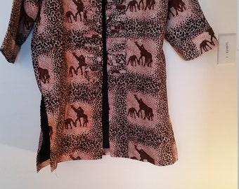 African Animal prints jacket