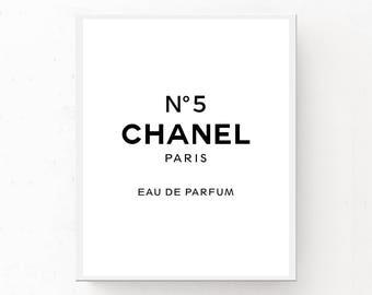 Chanel no 5 print