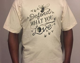 Defend What You Love - BEIGE