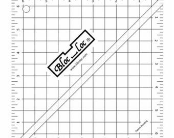 "Half Square Triangle Ruler  - HST 6.5"" - HST65 - Bloc Loc"