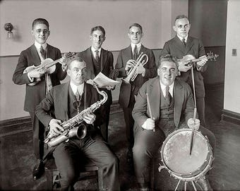 Jazz Band 1920's Photo