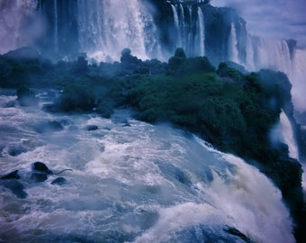 Nature Photography, Landscape, Iguazu Falls Print  Iguazu Falls Photo, Waterfall Photo, Waterfall Print, Iguazu Falls Photography, Wall Art