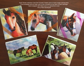 Horse Card Collection