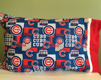 Chicago Cubs newest print pillowcase
