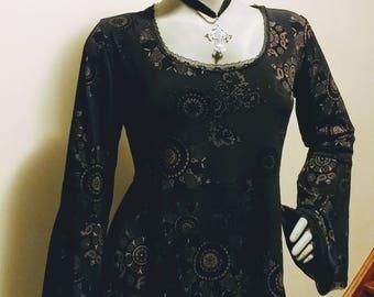 Gothic Grunge Witchy Boho Dress size XXL