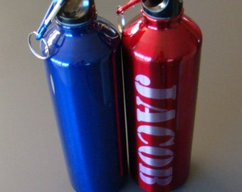 Custom Printed Personalized 750 ML or 25 OZ Stainless Steel Water Bottle