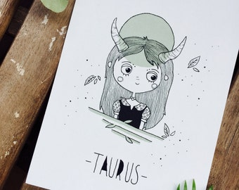 Illustration Taurus