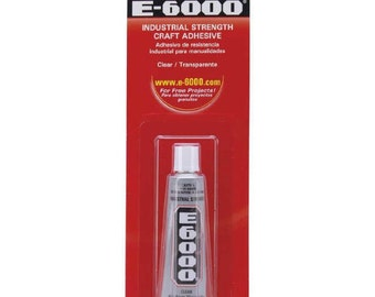 E-6000 Adhesive All purpose Craft Glue 0.18 OZ - .5 OZ (T300)