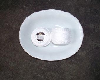 DMC Perle Cotton 8 White