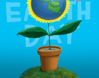 Happy Earth Day! (print)