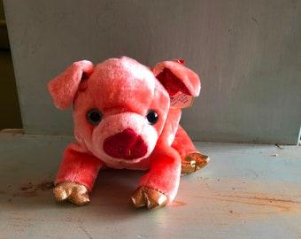 TY Beanie Babies Zodiac PIG