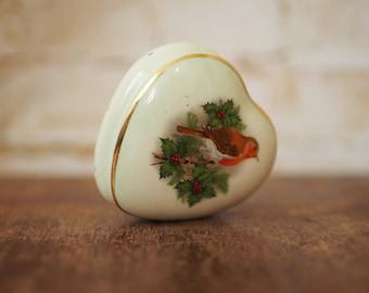 Royal Worcester 'Palissy' Ceramic Robin Pomander