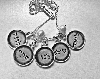Every Disc Has A Story ------ 5 discs -- Personalized your necklace for MOTHER'S DAY gift - Simag