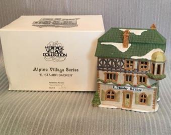 Dept 56 Heritage Village  - Alpine  Collection, E. Staubr Backer