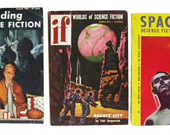 1950s Science Fiction Books