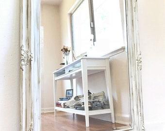 Custom Mirror | Shabby Chic Mirror | Ornate Mirror | French Provincial Mirror | Painted Mirror | Gold Mirror