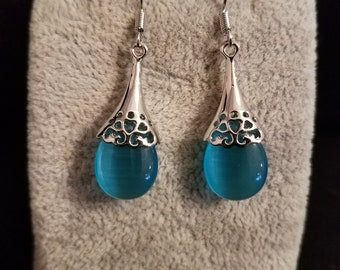 Blue and Silver Dream Earrings