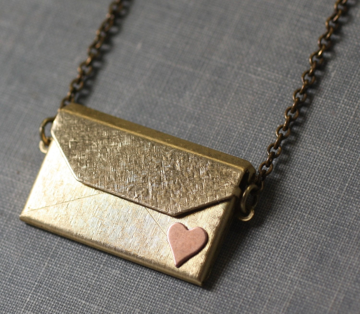 fortune envelope holding vermeil rose lockets metal frame chain products length locket gold env rolo roses edited rd