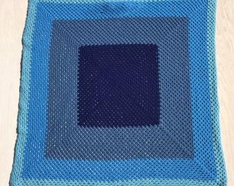 Colorblock Baby Blanket