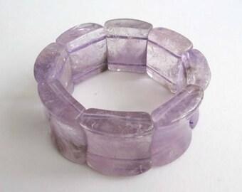Awesome Amethyst Bangle Bracelet