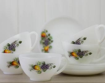 Arcopal France tea cup fruits de France