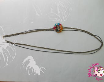 BROWN 04 CAPSULE NECKLACE